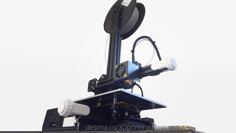ender 2 3d printer with mods